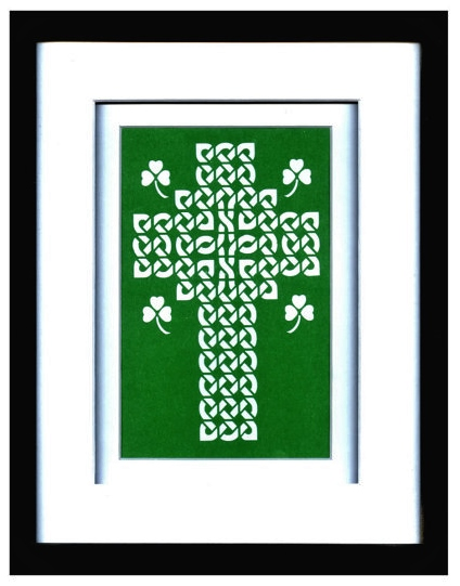 CelticCross framed