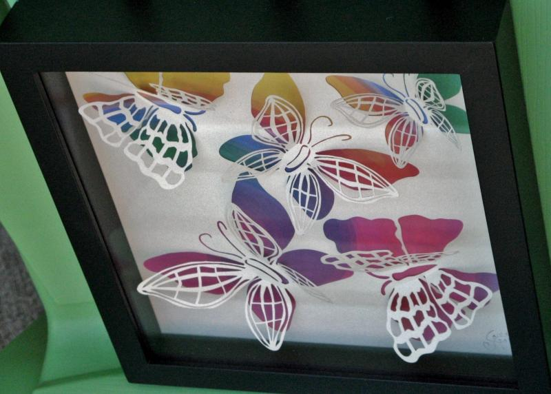 3D Butterflies Multi