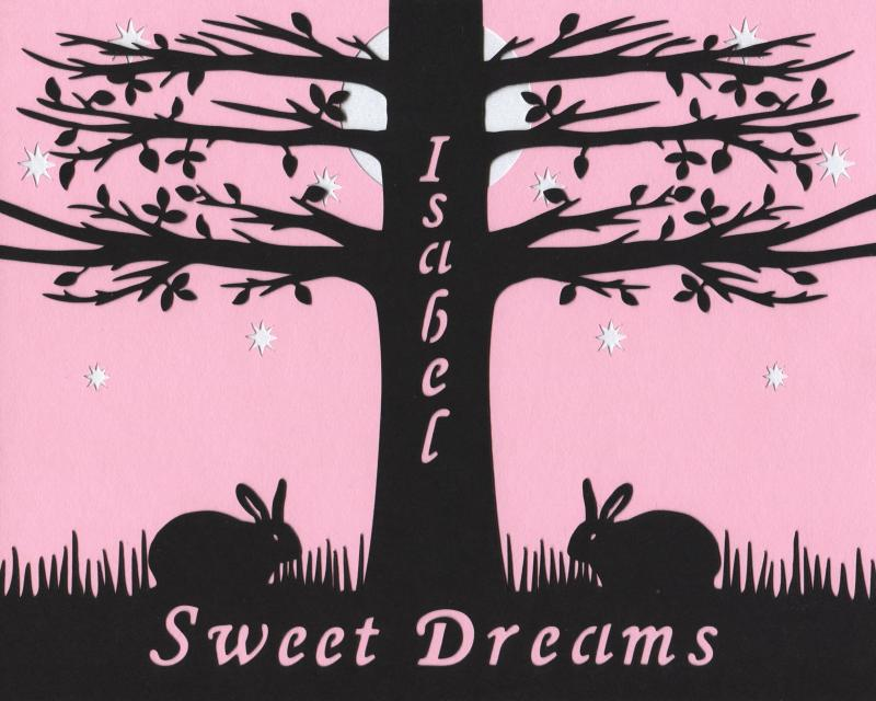 Sweet Dreams custom pink